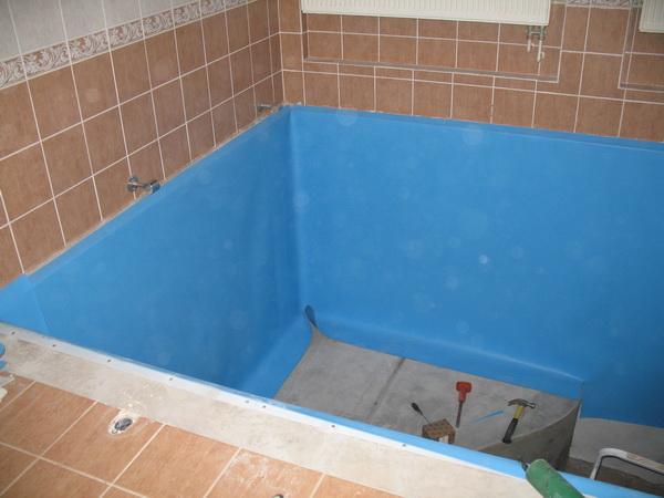 Как отремонтировать бассейн